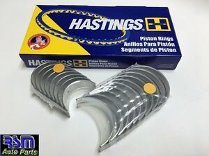 04-10 Pistons Rings & Rod Main Bearings Lancer Galant Eclipse 2.4L 4G69