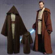 Mens Star Wars Jedi Cosplay Costume Robe Knight Skywalker Halloween Fancy Dress