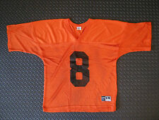 Chicago Bears #8 Practice Jersey NFL Football Orange Size Adult S M - NOS