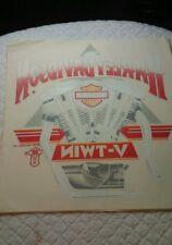 Vintage 1987 Harley Davidson Motorcycle Holoubek Iron On t-shirt transfer #5