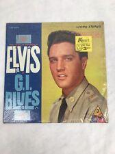 Vintage 1960 Elvis in G.I. Blues Album by Elvis Presley (Vinyl,RCA Stereo)