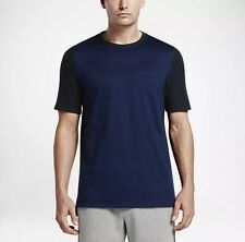 NIKE LAB X RF TOP MEN'S SZ XL NEW 826889-411 ROGER FEDERER NAVY/BLK $120