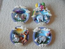 100 Acre Moments To Share Bradford Exchange (lot 4) collector plates Disney Pooh