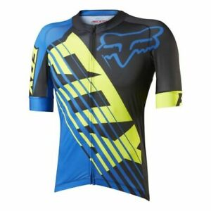 Fox Le Savant XC Mountain Bike Mtb Cycling Jersey Full Zipp Size XXL New
