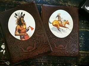 Time Life Books Indians And Cowboys With Cover Sleeve Collectors