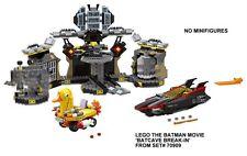LEGO THE BATMAN MOVIE 'BATCAVE BREAK-IN' FROM 70909 NO MINIFIGURES