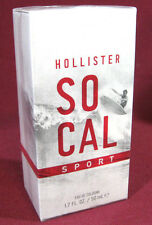 Hollister Co. SOCAL SPORT Cologne Spray 1.7 oz / 50 mL NEW! (Sealed)