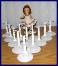 "One Dozen 12 Kaiser Doll Stands for 8"" Madame Alexander GINNY Riley"
