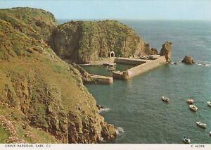 Channel Islands Postcard - Creux Harbour, Sark    RR8562