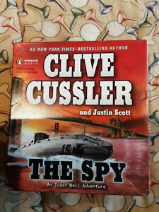 Clive Cussler Audio Books Cd Unabridged... The Spy