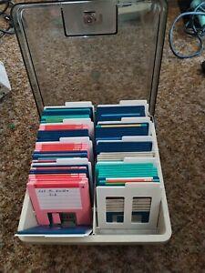 11x Disketten Box Inklusive Disketten 3,5 Zoll Atari Amiga Commodore