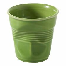 Revol - Gobelet Froissé Vert Lime 18cl