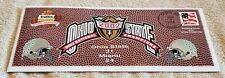 2003 Tostitos Fiesta Bowl National Championship Miami vs Ohio State Envelope