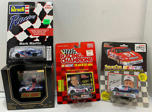 Lot Of 4 Mark Martin 6 Diecast Racing Champions Race Cars 1993 1996 1997