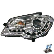 Set Design Scheinwerfer VW Touran GP Bj. 06-10 klar/chrom LED Dragon Lights 35U