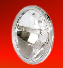 Headlight Insert H4 5 3/4 Inch Clear Glass Prism Reflector Headlight E-Approved
