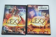 Lexx: The Complete Series (DVD, 2016, 9-Disc Set) MISSING DISC 1