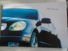 Lexus GS range brochure 1998 USA market