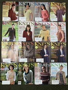 Interweave Knits Magazine issues between Fall 2006 to Fall 2012 Lot of 16 rare
