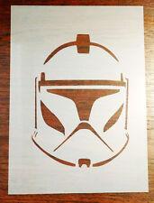 Clone Trooper STAR WARS Stencil MASK riutilizzabili MYLAR Fogli per Arts and Crafts, fai da te