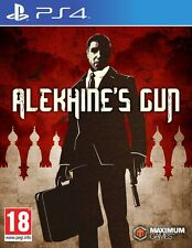 Alekhine's Gun PS4 NEW SEALED DISPATCHING TODAY ALL ORDERS PLACED BY 2 PM