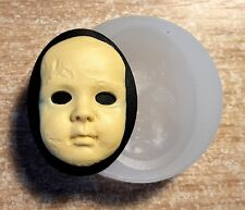 SCARRY DOLL SILICONE MOLD  sugarcraft polymer clay fimo resin mold chocolate