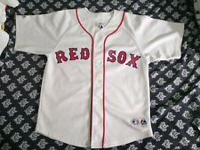 Boston Red Sox Baseball Jersey Jason Veritek #33 Youth Medium White Kids unisex