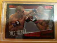 Rory MacDonald 2010 Topps UFC Rookie Card Ruby Red Variant 4/8