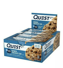 Quest Nutrition Protein Bar Oatmeal Chocolate Chip 12 Bars 60g