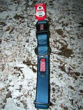 "Kong Comfort Padded Adj. Dog Collar XL 20-28"" in. Cushioned BLUE NWT"