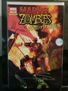 Marvel Zombies Vs. Army of Darkness #1 Variant Signed Suydam Layman What If? MCU