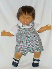 "Darling Large 24"" Vintage Boy Baby Doll By Berjusa"