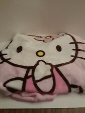 Hello Kitty Plush Pink Fleece Blanket