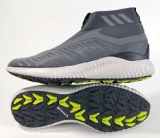 differently 21e04 070d4 Adidas Alphabounce Zip M Mens Size 11 Running Shoes GreyWhite BW1385 NEW