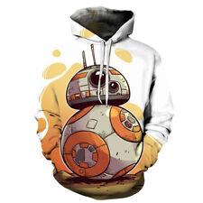 Movie Star Wars 3D Print BB Hoodie Men Women sweater Casual Pullover Jumper Top
