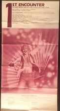 "poster: Moscone Center opening, San Francisco, original 1982 - 12"" X 24 1/4"""