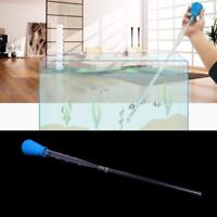 Aquarium Gravel Siphon Vacuum Cleaner Water Pump Fish Tank Cleaning Filter Clean
