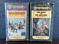 Dragonlance WANDERLUST Meetings Sextet 2 4 OATH & MEASURE Book TSR 1st Print lot