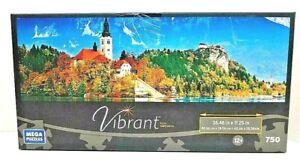 750 Piece Mega Brands Slovenia Castle Vibrant Puzzle
