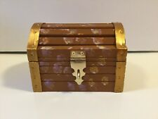 Pirate Chest  Treasures Box, Trinket Box, Rustic Box, Wooden Box With Latch