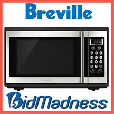 BREVILLE 34L 1100W STAINLESS STEEL MICROWAVE 1100W 34 Litres BMO300   2 YRS WTY
