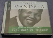 NELSON MANDELA Long Walk To Freedom CD AUDIOBOOK South Africa Politics
