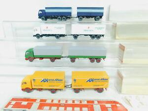 BO748-0, 5 #4x wiking H0 / 1:87 Truck MB: 456 Karstadt+ 459/2 Maier +455 +455 /