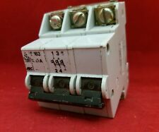 SK STOTZ BBC S163 10A 10AMP K TYPE K10 TRIPLE POLE TP 3P MCB FUSE SWITCH