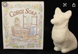 Evelyn & Crabtree Corgi Soap Tasha Tudor 1990