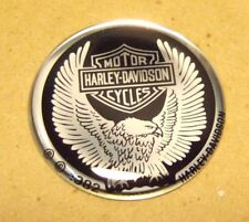 "NOS Harley Davidson Emblem 1-3/8"" Great for a Belt Buckle with Adhesive back"