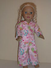 """Pretty Baby Dinosaurs Pajamas 18"""" Doll Clothes American Girl"""