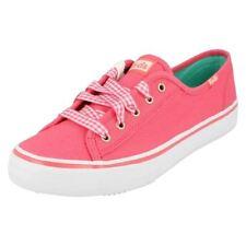 Calzado de mujer de color principal rosa de lona talla 38