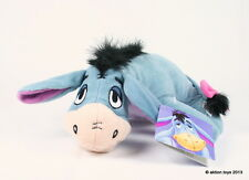 "Winnie the Pooh EEYORE THE DONKEY 8"" laying plush soft toy FISHER PRICE - NEW!"