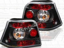 99-01-03-05 VW GOLF MK4 TAIL LIGHTS JDM BLACK NEW 02 04